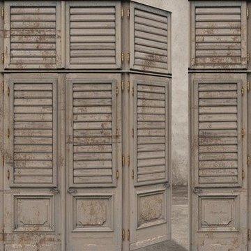 Riviera Maison Louvre Doors met gratis vlieslijm ** Met Extra Winkelwagen Korting! **