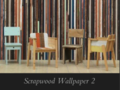 Arte Scrapwood wallpaper 2