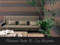 Arte flamant suite II les rayures