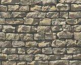 AS Creation Wood´n Stone 9079-12 Steenstructuur behang_