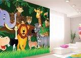 AG Design Fotobehang Jungle Safari FTS1307_