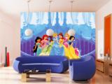 AG Design Fotobehang Disney Princess In The Castle FTD0264_