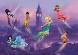 AG Design Fotobehang Disney Fairies in London FTDS1925_