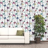 Dutch Jet Setter behang 102529 Garden Butterfly_