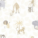 Dutch Wallcoverings Make Believe Jungle Friends 12540_