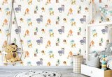 Dutch Wallcoverings Make Believe Jungle Friends 12541_