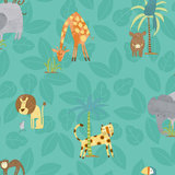 Dutch Wallcoverings Make Believe Jungle Friends 12542_
