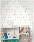 Dutch Wallcoverings Make Believe Alphabet 12560_