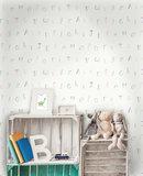 Dutch Wallcoverings Make Believe Alphabet 12562_
