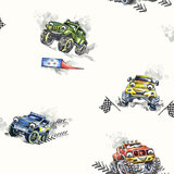 Dutch Wallcoverings Make Believe Monster Trucks 12510_