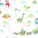 Dutch Wallcoverings Make Believe Dino Town 12530_