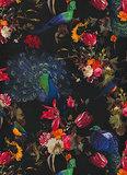 Behangexpresse Instawalls 6371-15 Botanisch/Vogels/Pauw/Planten Behang_