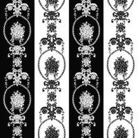 Esta Love 136847 Baroque black & white