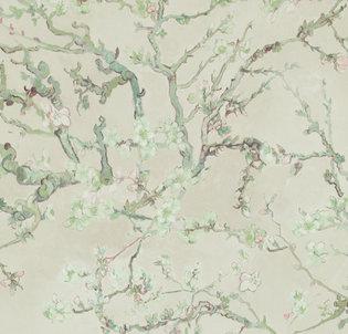 BN Van Gogh behang 17141 Almond Blossom (Met Gratis Vlieslijm)