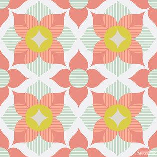 Cozz Smile behang 61168-04 Graphic Flower