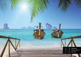 AG Design Fotobehang Paradijselijke Stranden FTS1315