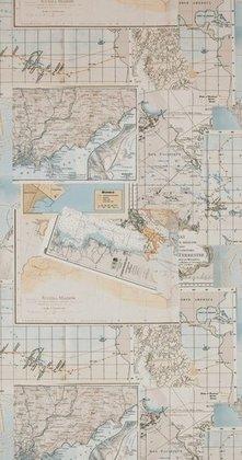 Riviera Maison  Oceans 18392 met gratis vlieslijm