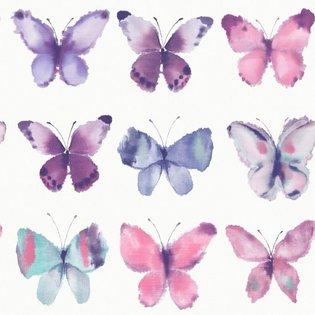 metallic muticolour vlinders 273618