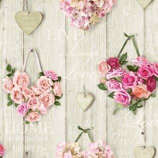 14503 vintage harten rozen riviera style