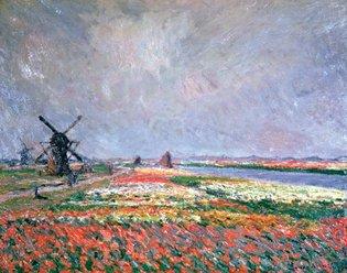 Evolution V fotobehang 1428 Vincent van Gogh Tulip Fields