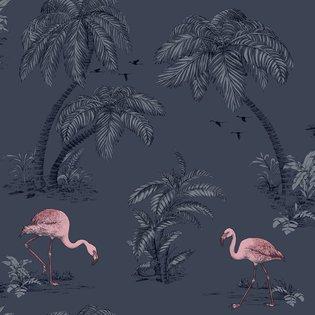 Dutch Wallcoverings Imaginarium flamingo 12382