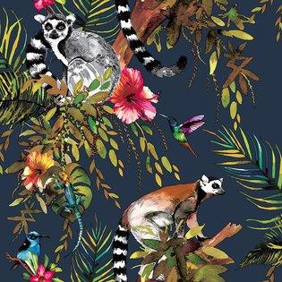 Dutch Wallcoverings Imaginarium Lemur 12403