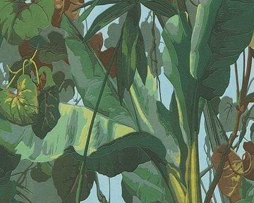 AS Creation Dekora Natur behang 95898-1 Jungle Fever