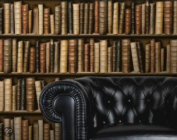 Dutch F923-38 Bibliotheek behang