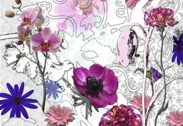Fotobehang Komar Purple
