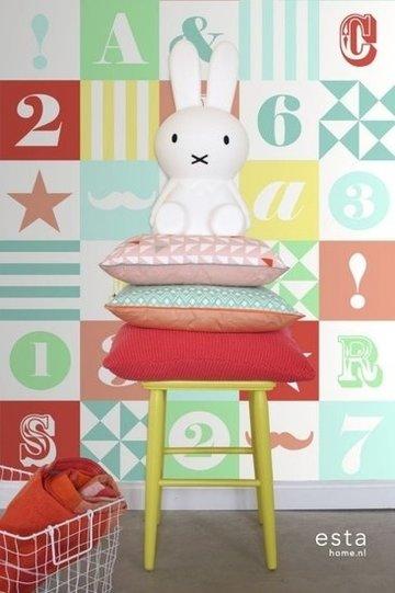 Everybody Bonjour WallpaperXXL Blokken 158702