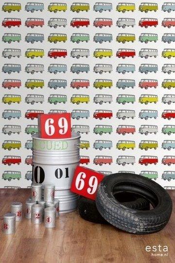 Everybody Bonjour WallpaperXXL Vintage Transporters 158713