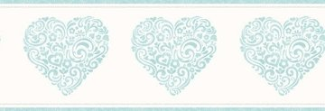 Dutch Carousel behangrand DLB50077 Hearts
