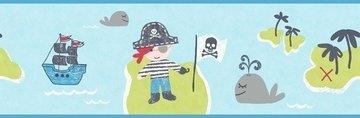 Dutch Carousel behangrand DLB50088 Pirates