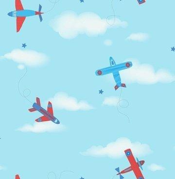 Dutch Carousel behang DL21134 Planes