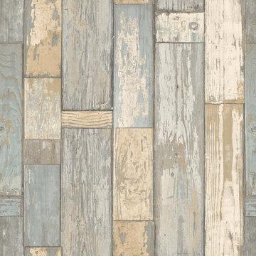 Dutch Exposed Warehouse behang ew3401 hout