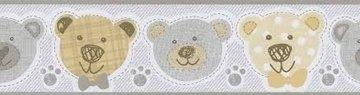 Dutch Happy Kids behang behangrand 05577-40 Beren