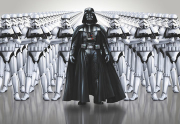 Fotobehang Starwars Imperial Force