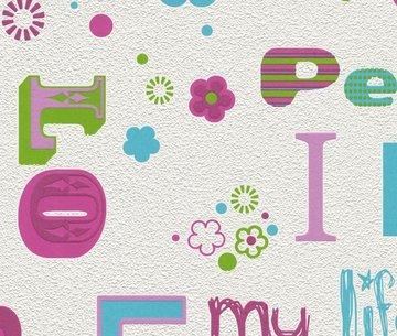 Kids Club 478419 Love & Peace behang