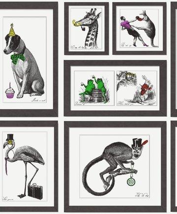 Dutch Wallcoverings Imaginarium Mad Dogs 97921