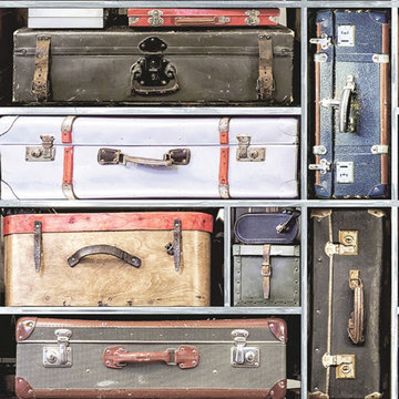 Dutch Wallcoverings Imaginarium koffers 11960
