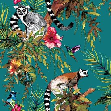 Dutch Wallcoverings Imaginarium Lemur 12402