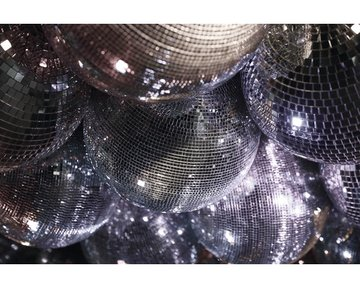 BARBARA BECKER Fotobehang 474411 Nightlife discobol zilver 300x418,5 cm
