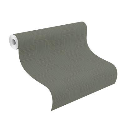 Rasch Denzo Behang 533453 Modern/Blokken/Groen