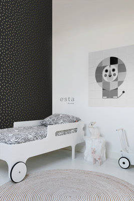 Esta Home Black & White 139128 (With a spash of gold)