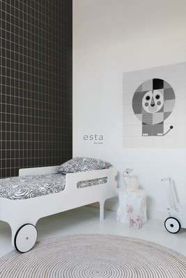 Esta Home Black & White 139132 (With a spash of gold)