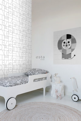 Esta Home Black & White 139142