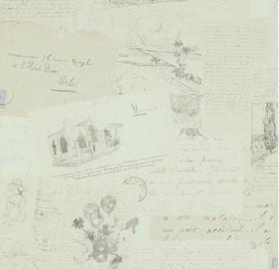 BN Van Gogh behang 17200 (Met Gratis Perfax Lijm!)