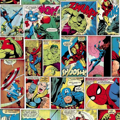 Marvel behang 159501