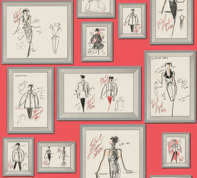 AS Creation Karl Lagerfeld Sketch 37846-2 / 378462