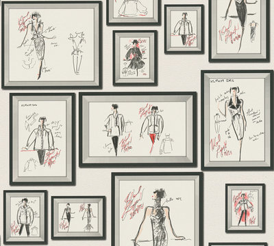AS Creation Karl Lagerfeld Sketch 37846-3 / 378463